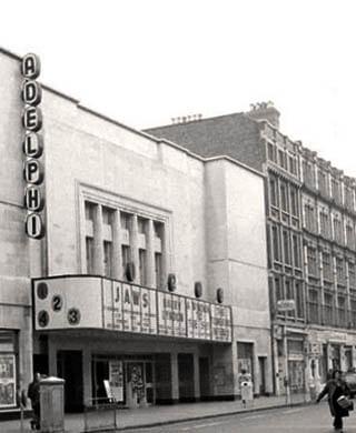 The Adelphi cinema.