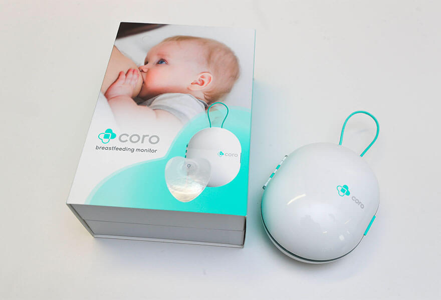 Medtech in Dublin - Using the Internet of Things and wearable tech, Coroflo has built a breastfeeding monitoring device.
