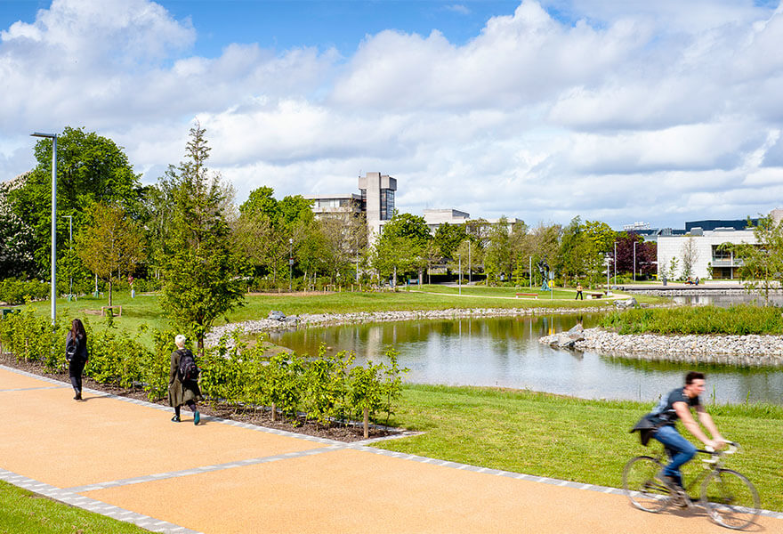 UCD Goes Global - With a huge urban campus and state-of-the-art facilities, University College Dublin welcomes hundreds of international students each year.