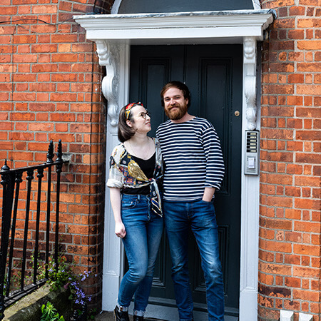 Doors Closed, Hearts Open - Katie Kavanagh, a Dublin photographer, has been taking Doortraits of her neighbours at their doors and raising funds for cancer.