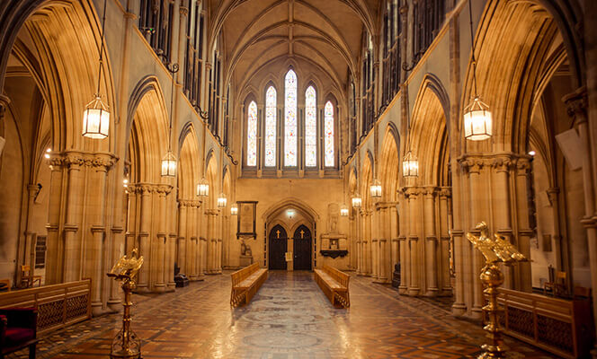 Nave of Christ Church Cathedral