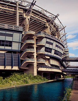 The Canal end at Croke Park