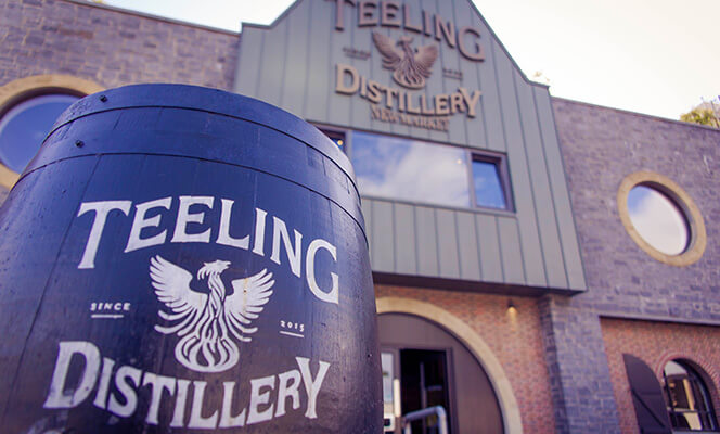 The entrance to Teeling Whiskey Distillery