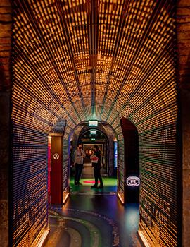 Corridor in EPIC museum