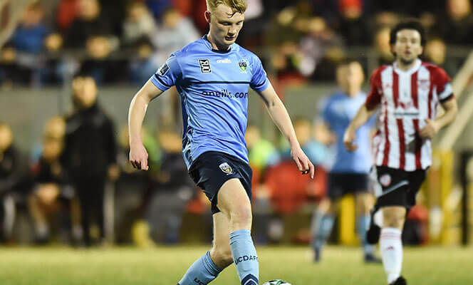 Liam Scales of UCD in action