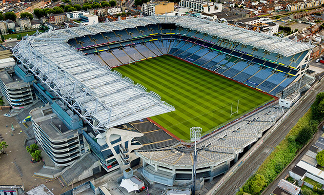 Croke Park from the air
