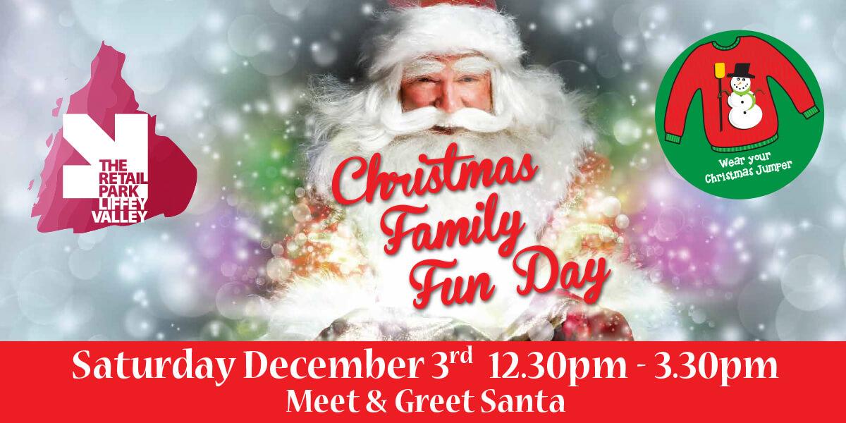 Christmas Family Fun Day: Meet Santa!
