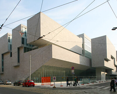 Dublin architects on the world stage - Hugh Campbell, Professor of Architecture at UCD, talks about the impression Ireland is making internationally. Image: Universita Luigi Bocconi.