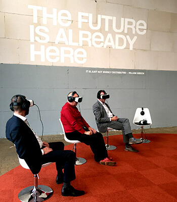 Virtual Reality headsets.