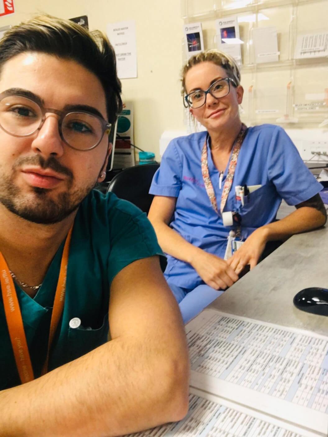 Denis & Maedbh, Emergency nurses