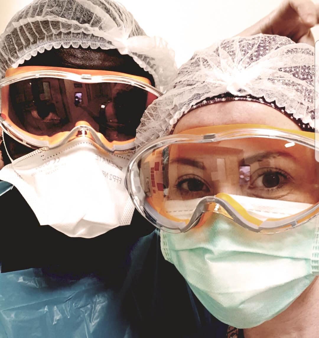 Kunle & Maedbh, Doctor and nurse