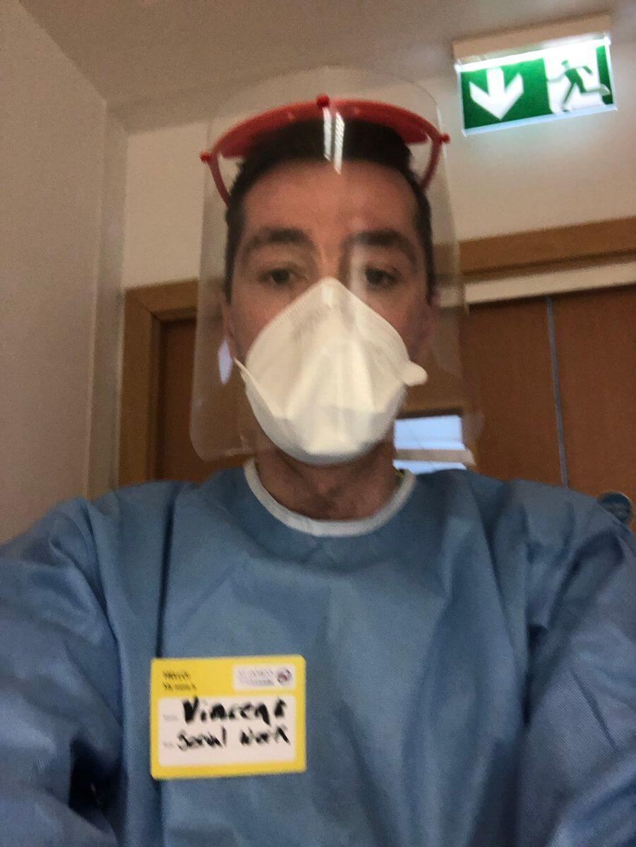 Vincent, Medical Social Worker
