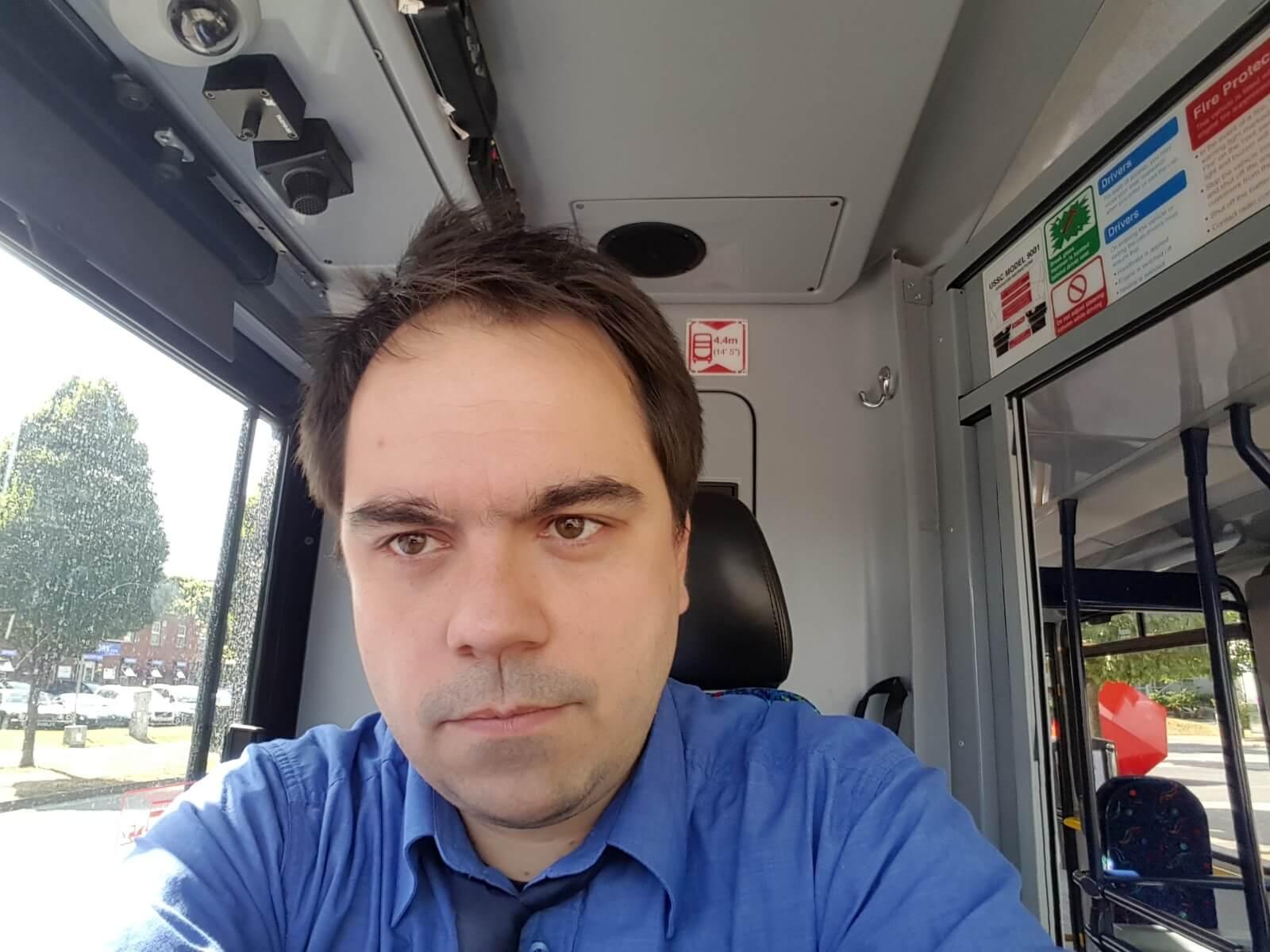 Bartosz, Bus driver