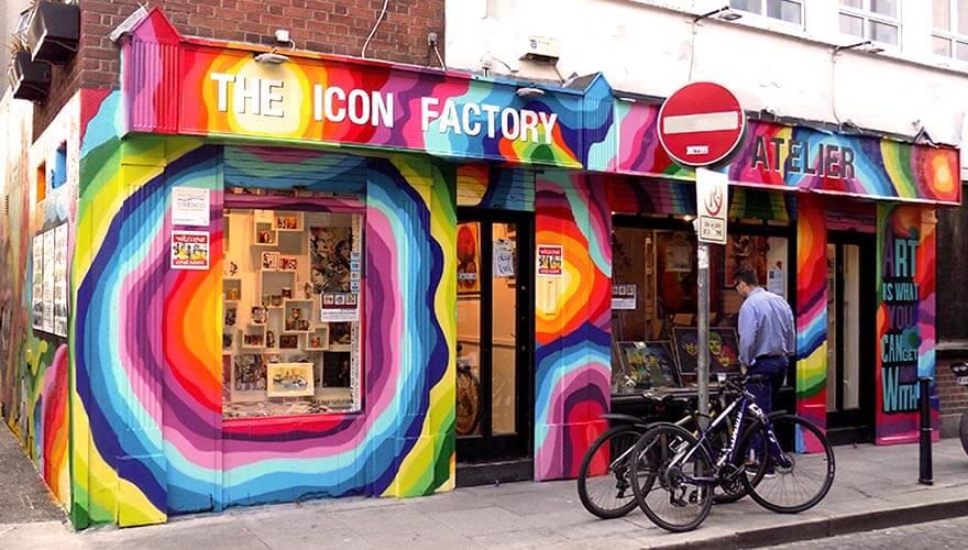 Resultado de imagen para icon factory dublin