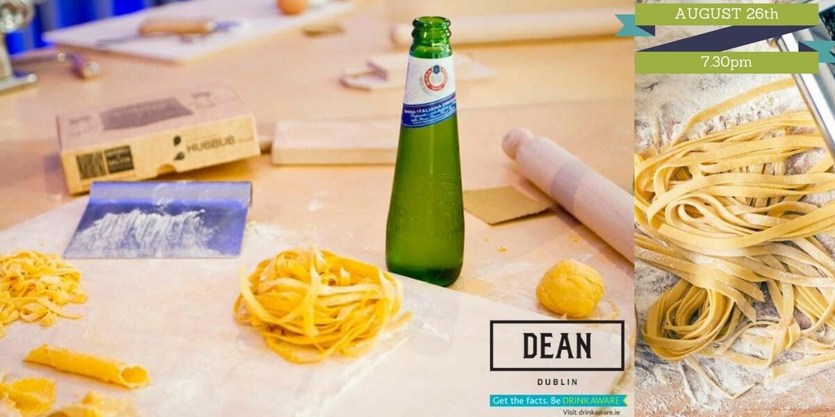 The Art Of Pasta Masterclass at the Dean Dublin