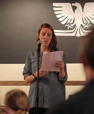 Helen Chandler, who attended the UCD MA in Creative Writing in 2007/2008.