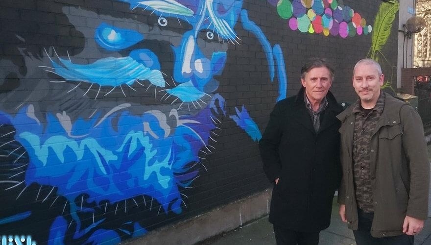 Fink and Gabriel Byrne - Image courtesy of Fink