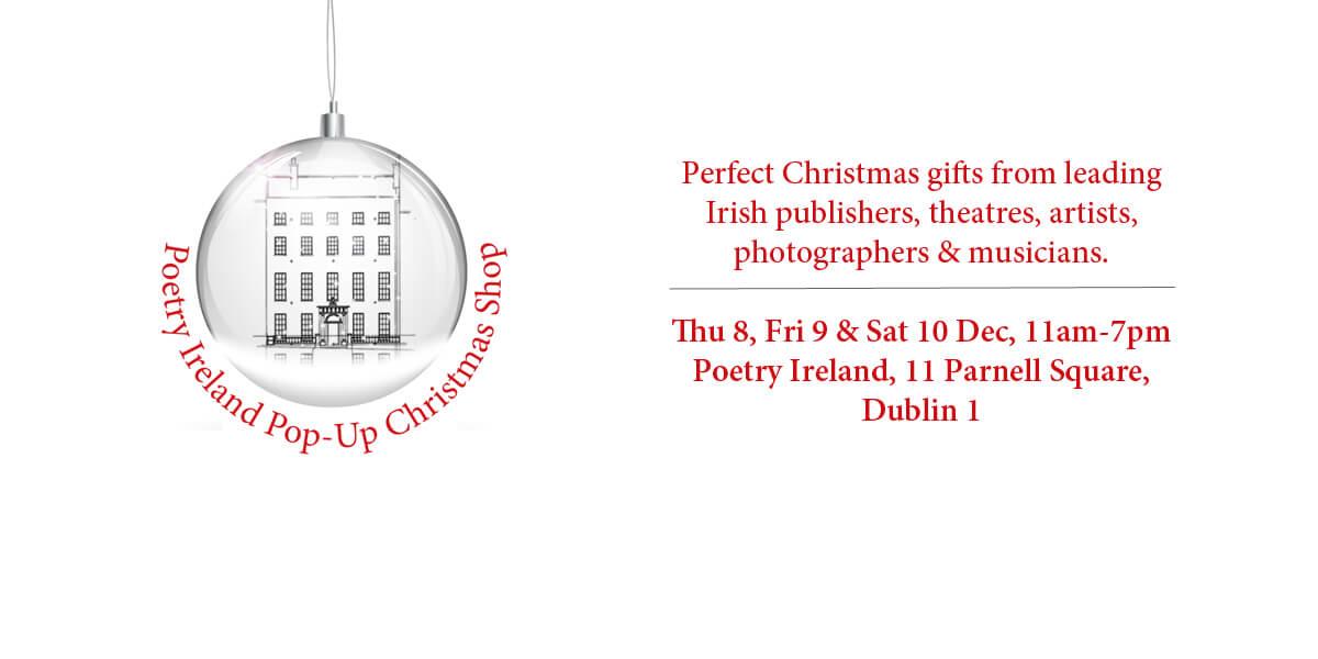 Poetry Ireland Pop-Up Christmas Shop