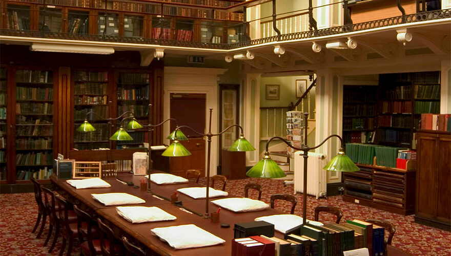 The Royal Irish Academy Library.