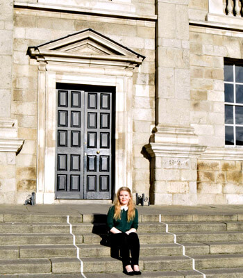 The Third Level: Life at Trinity Medical - Medicine in Trinity College Dublin is known as one of the most difficult courses to get into in Ireland. Image: Aisling Hickey, Trinity medicine student.