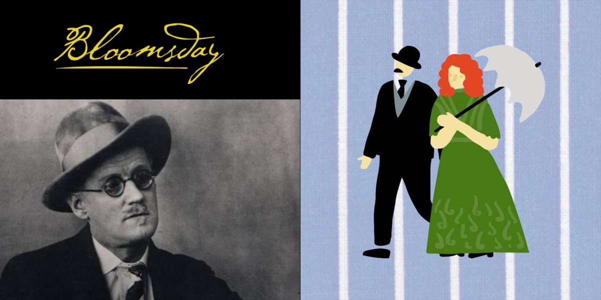 Bloomsday Festival takes place June 11th-16th, 2019. It celebrates Thursday 16 June 1904,the day depicted in James Joyce's novel Ulysses. The central character of which was, Leopold Bloom.