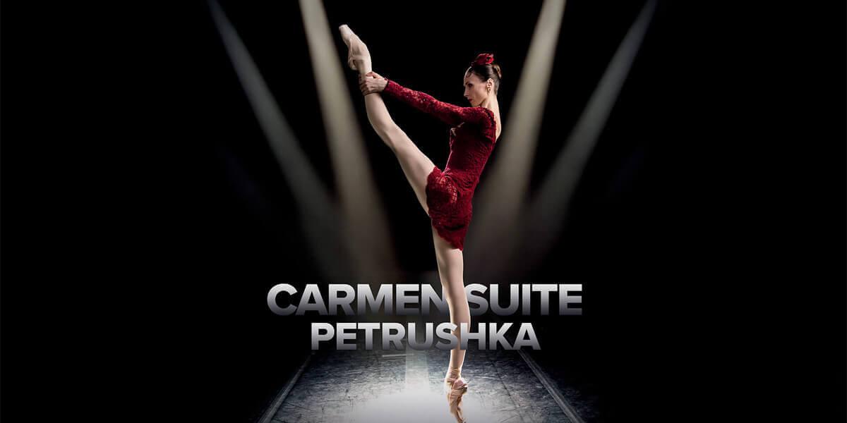 Bolshoi Ballet: Carmen Suite/Petrushka (Live)