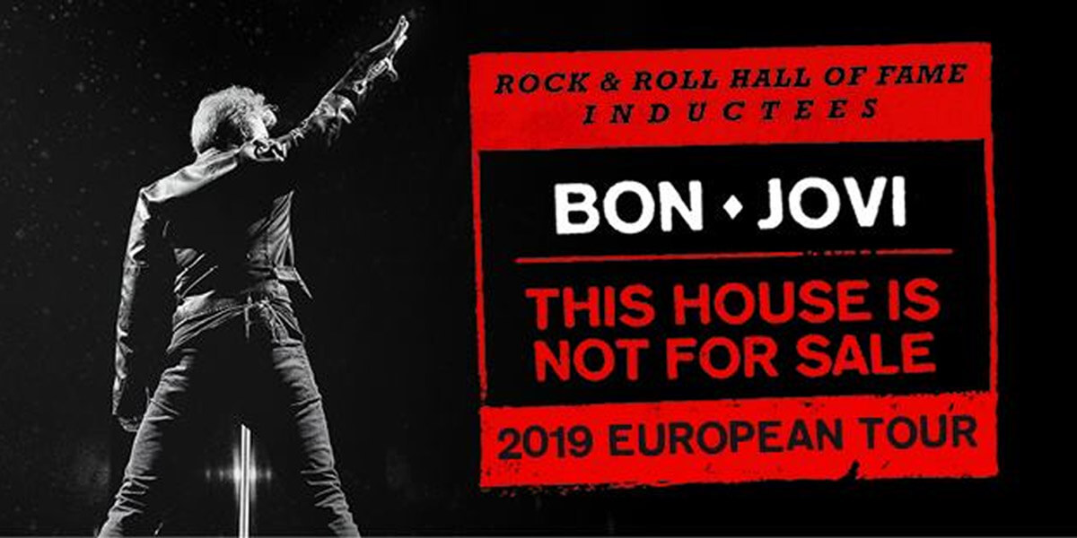 Bon Jovi – This House is not For Sale Tour