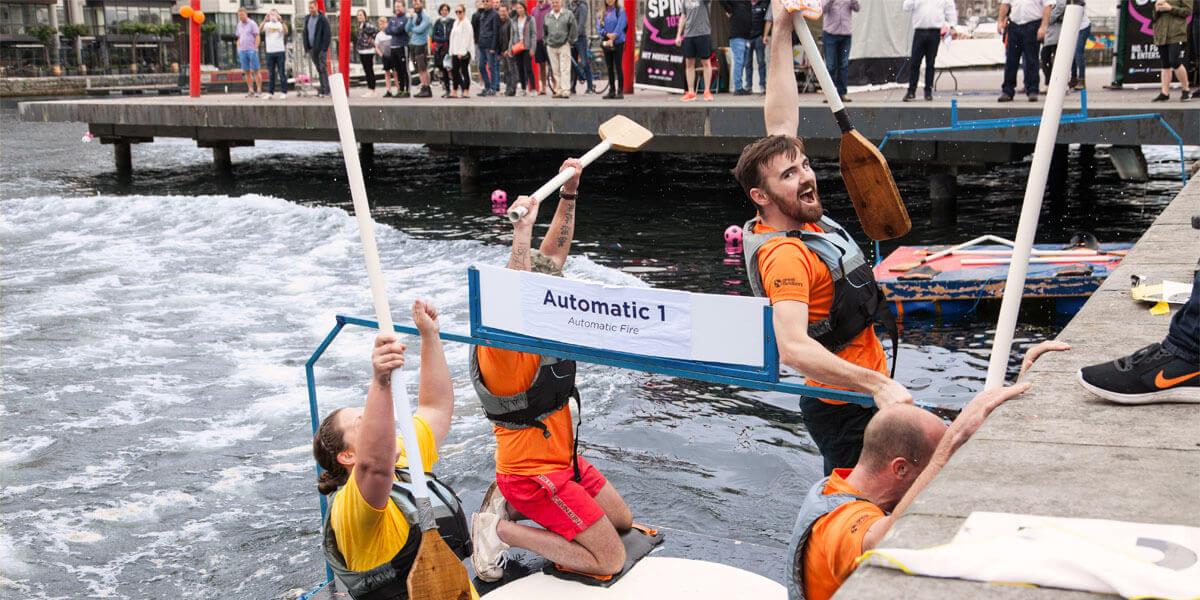 Depaul Raft Race Against Homelessness