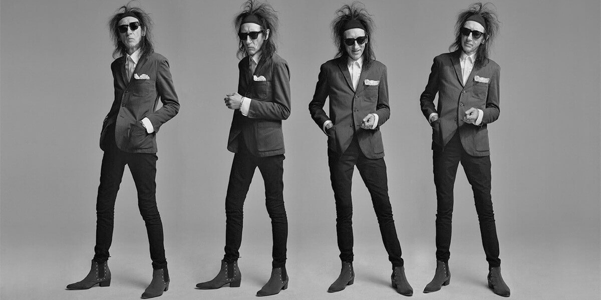 Dr John Cooper Clarke – The Luckiest Guy Alive Tour