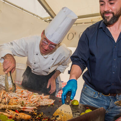 The Dublin Bay Prawn Festival has it all. Whatever way you like your prawns – barbecued, whole, shelled, fried, skewered, marinated or sauced