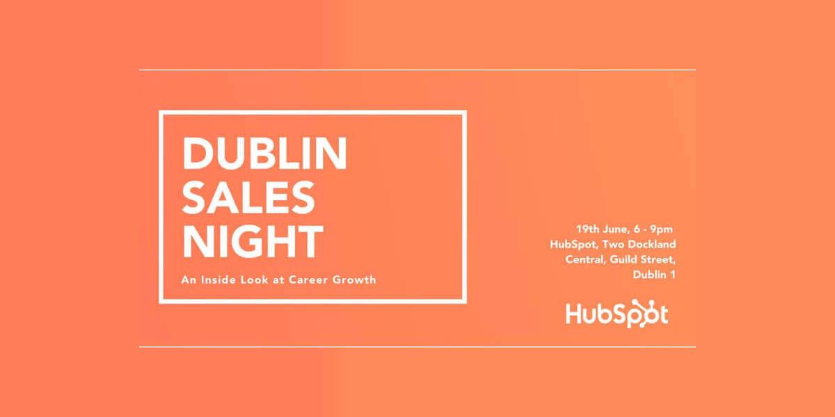 Dublin Sales Night: An Inside Look at Career Growth