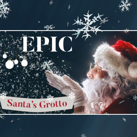 Santa's Grotto at EPIC - An unforgettable Christmas experience @ EPIC The Irish Emigration Museum! December 2019.