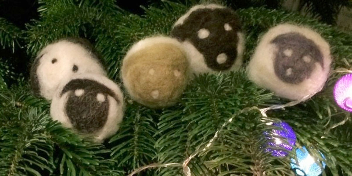 Felted Sheep and Mini-Advent Wreath Workshop