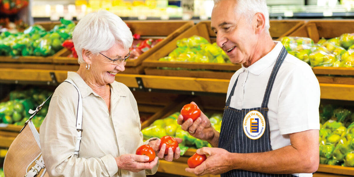 Getting the Messages – Dementia Inclusive Shopping Launch