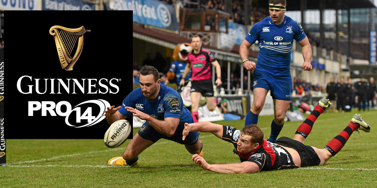 Image result for Leinster vs Scarlets PRO14 Rugby Final 2018 pic