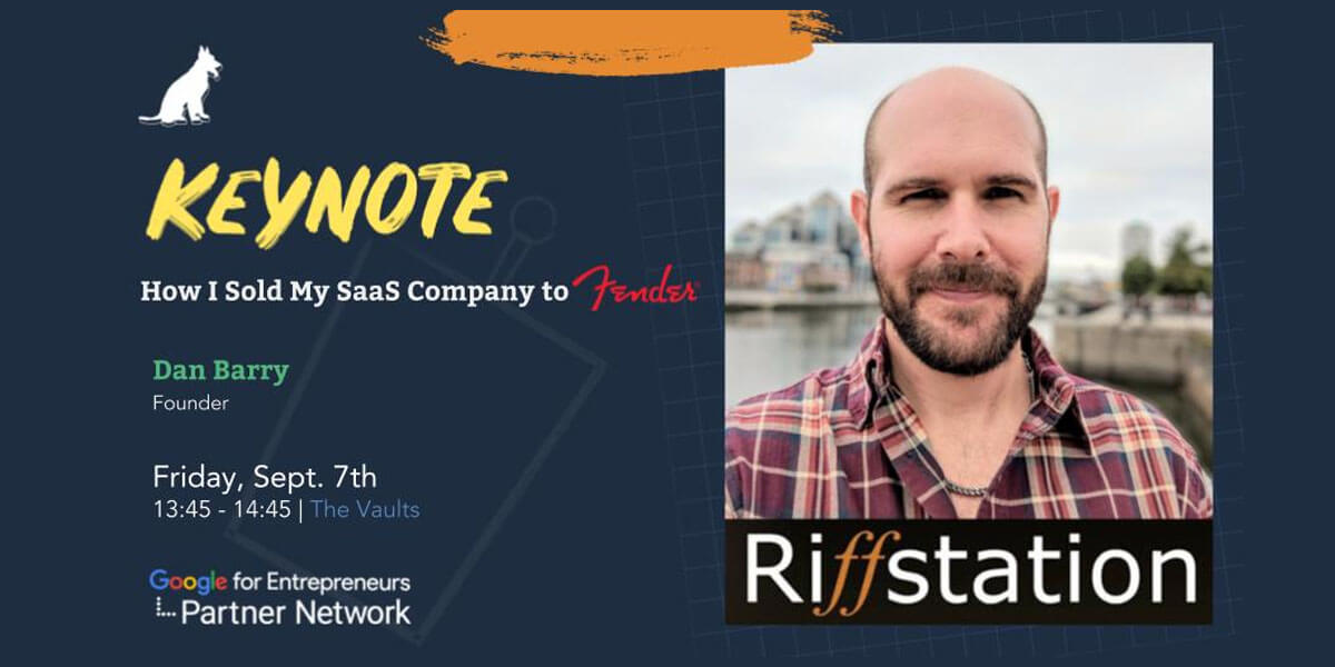 Keynote: How I Sold My SaaS Company to Fender