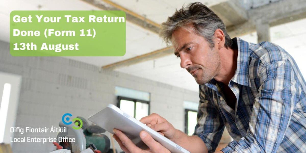 LEO South Dublin – Get Your Tax Return Done (From 11)