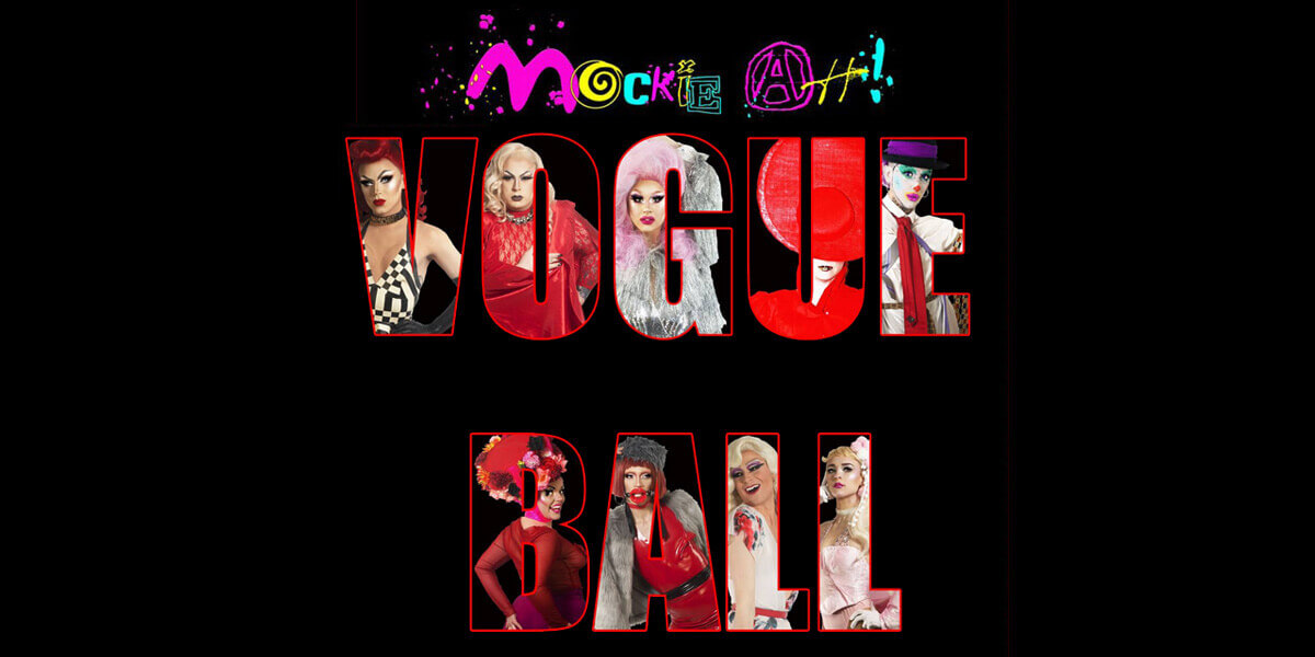 Mockie Ah: Dublin Pride Vogue Ball