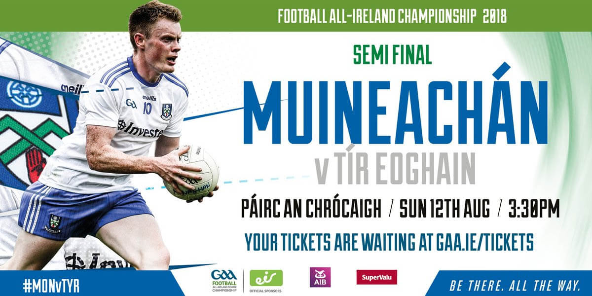 Monaghan v Tyrone | GAA Football All-Ireland Senior Championship Semi Final