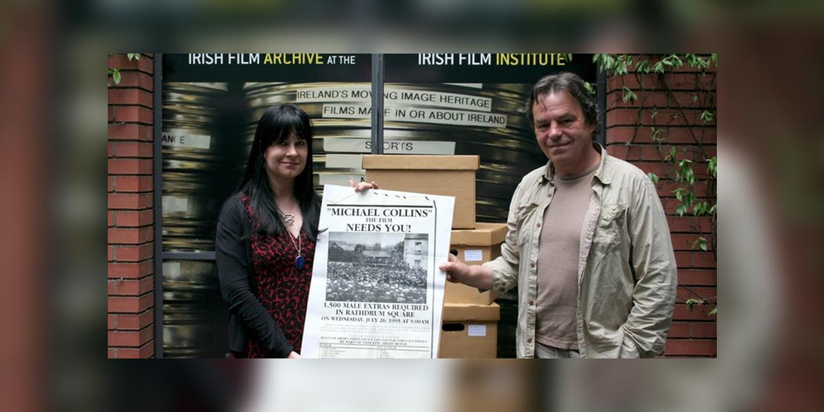 Moving History: Kasandra O'Connell, IFI Archivist