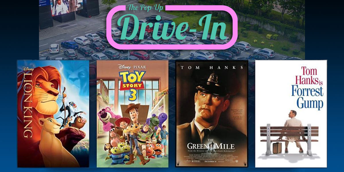 Pop-Up Drive-in
