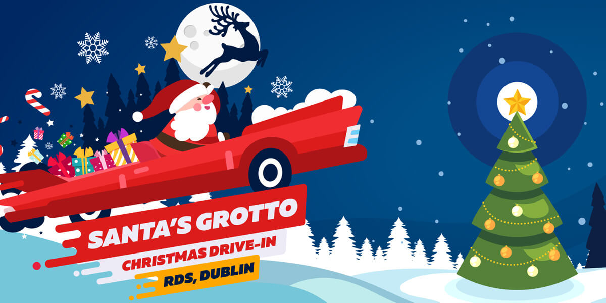 Santa's Grotto Christmas Drive-In