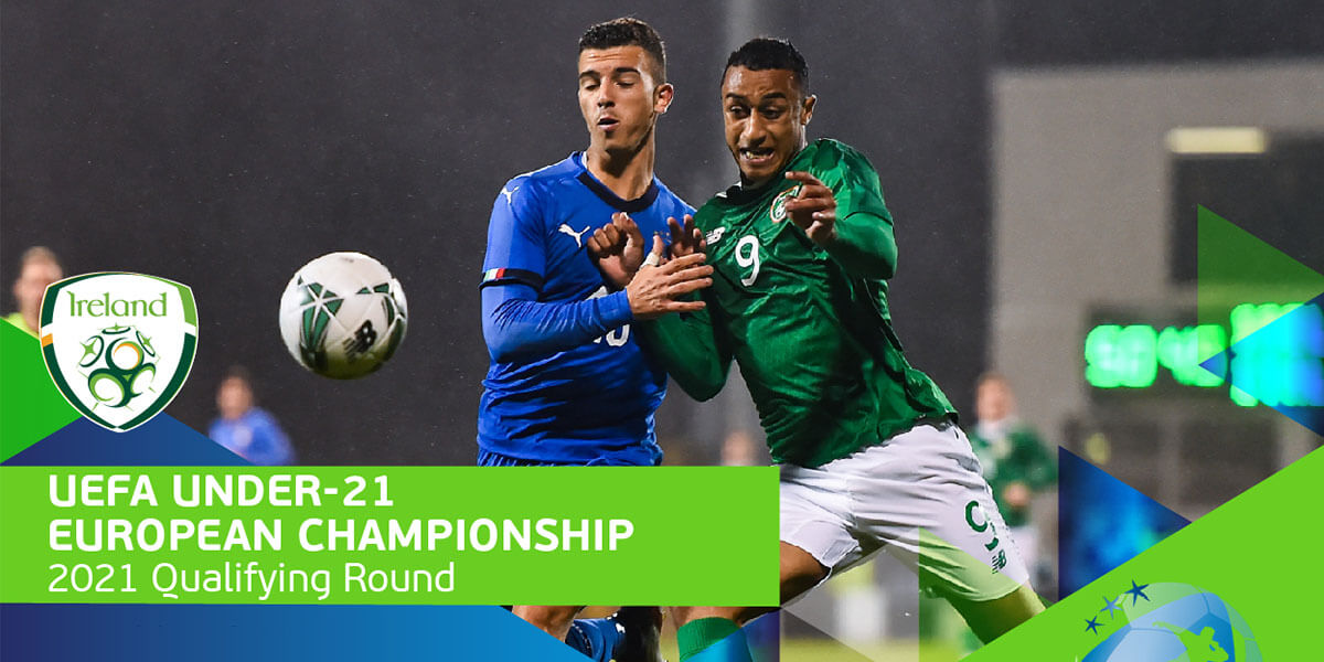 UEFA Under-21 Euro 2021 Qualifier: Rep. of Ireland vs Sweden