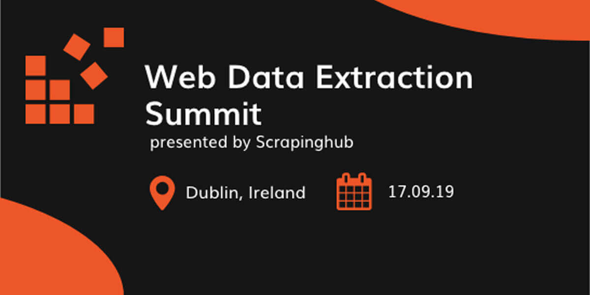 Web Data Extraction Summit