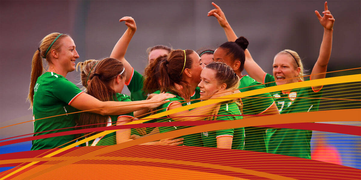UEFA Women's Euro 2021 Qualifier: Rep. of Ireland vs Montenegro