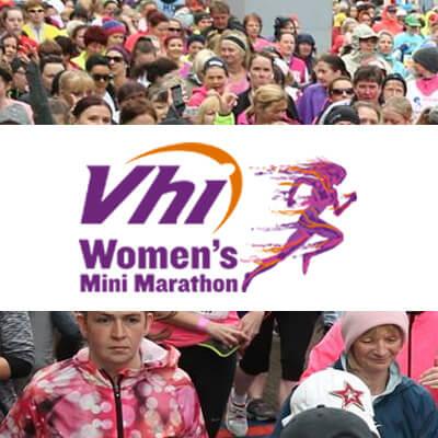 Vhi Women's Mini Marathon - Annual 10k charity road race which occurs each June bank holiday weekend in Dublin.