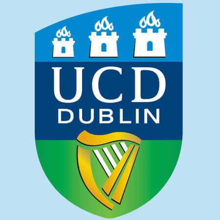 UCD logo.