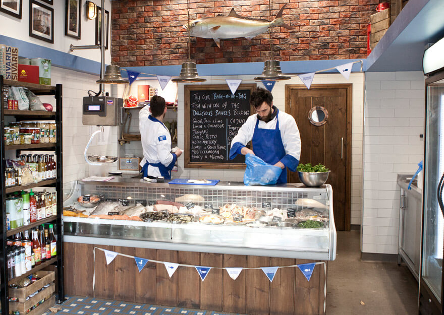 Above And Main Image Top Graham Rogerson Left Morgan Ryan Of Georges Fish Shop Monkstown